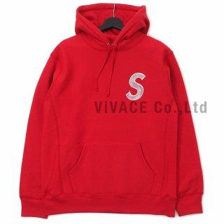 S Logo Hooded Sweatshirt