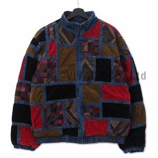 Corduroy Patchwork Denim Jacket