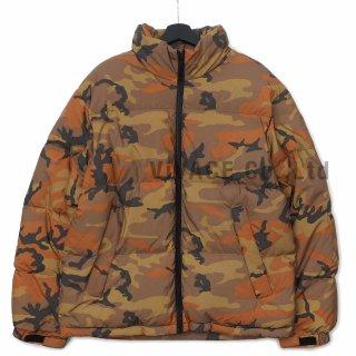 Reflective Camo Down Jacket
