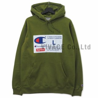 Supreme?/Champion? Label Hooded Sweatshirt