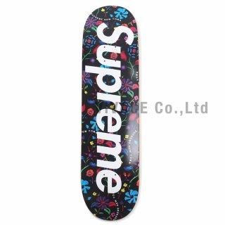 Airbrushed Floral Skateboard
