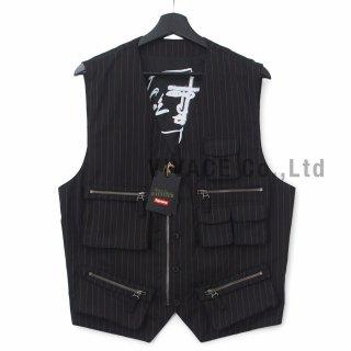 Supreme?/Jean Paul Gaultier? Pinstripe Cargo Suit Vest