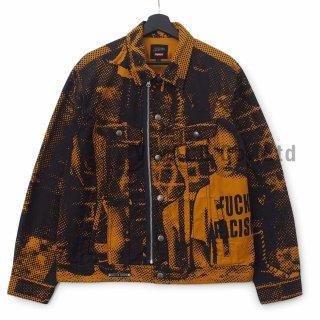 Supreme?/Jean Paul Gaultier? Fuck Racism Trucker Jacket