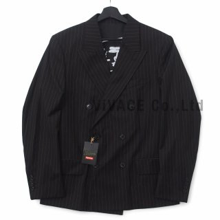 Supreme?/Jean Paul Gaultier? Pinstripe Double Breasted Blazer