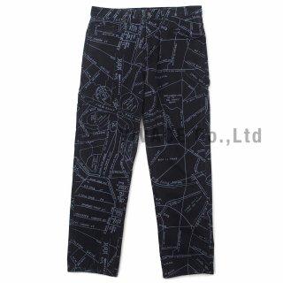 Gonz Map Denim Painter Pant