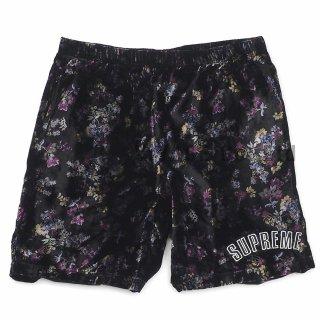 Floral Velour Short