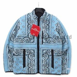 Reversible Bandana Fleece Jacket