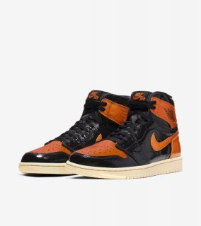 AIR JORDAN 1 RETRO HIGH OG SHATTERED BACKBOARD 3.0《Black/Pale Vanilla-Starfish》