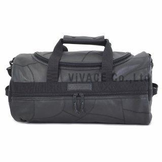 Patchwork Leather Duffle Bag