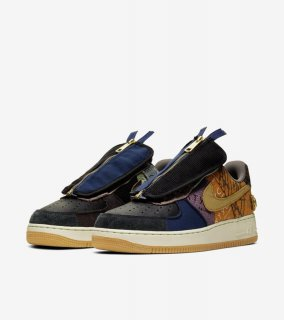 AIR FORCE 1 LOW TRAVIS SCOTT《Multi-Color/Muted Bronze-Fossil》