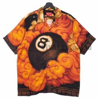 Martin Wong/Supreme 8-Ball Rayon S/S Shirt