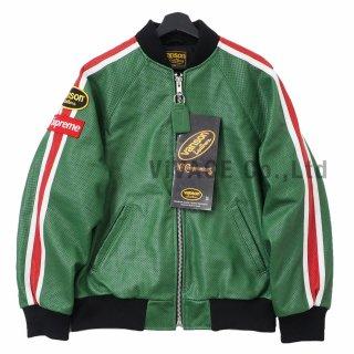 Supreme®/Vanson Leathers® Perforated Bomber Jacket