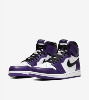 AIR JORDAN 1 RETRO HIGH OG COURT PURPLE《Court Purple/White-Black》