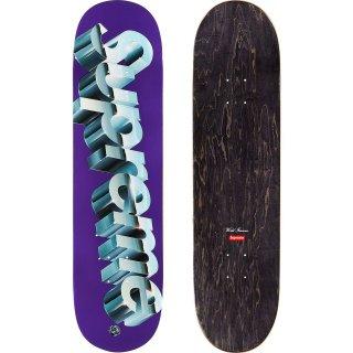 Chrome Logo Skateboard