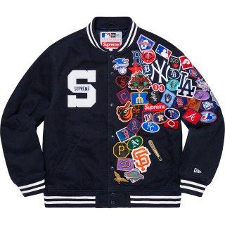 Supreme®/New Era®/ MLB Varsity Jacket