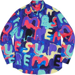 Painted Logo Shirt