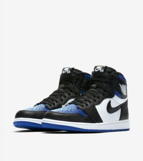 AIR JORDAN 1 RETRO HIGH OG ROYAL TOE《Black/White-Game Royal-Black》