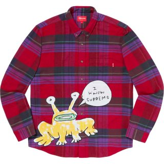 Supreme/Daniel Johnston Plaid Shirt