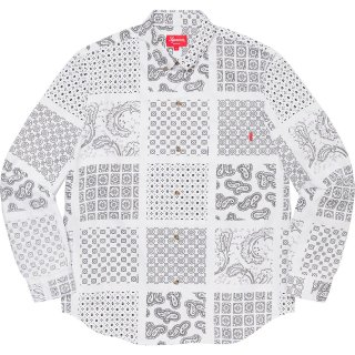 Paisley Grid Shirt