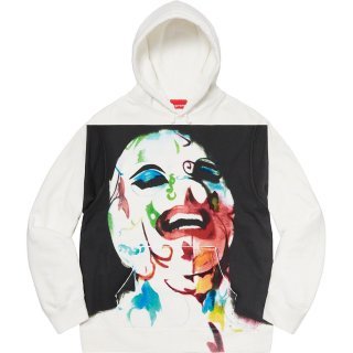 Surpeme/Leigh Bowery Airbrushed Hooded Sweatshirt