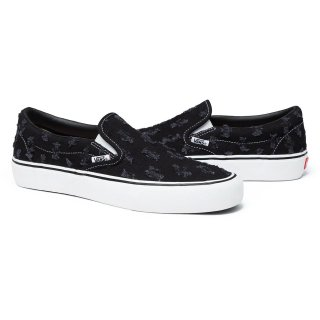 Supreme®/Vans® Hole Punch Denim Slip-On Pro