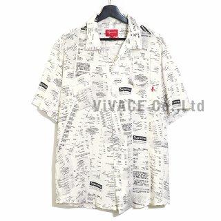 Receipts Rayon S/S Shirt