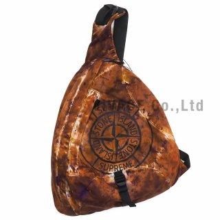 Supreme®/Stone Island® Painted Camo Nylon Shoulder Bag