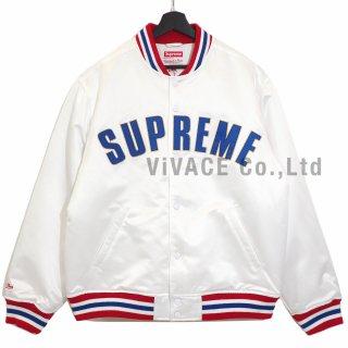 Supreme®/Mitchell & Ness® Satin Varsity Jacket