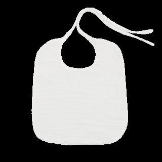 <img class='new_mark_img1' src='https://img.shop-pro.jp/img/new/icons14.gif' style='border:none;display:inline;margin:0px;padding:0px;width:auto;' />numero74  Baby Bib Round ベビースタイ/ white