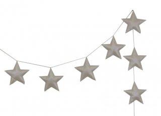 <img class='new_mark_img1' src='https://img.shop-pro.jp/img/new/icons20.gif' style='border:none;display:inline;margin:0px;padding:0px;width:auto;' />numero74  Mini star garland  /  cream 30%off