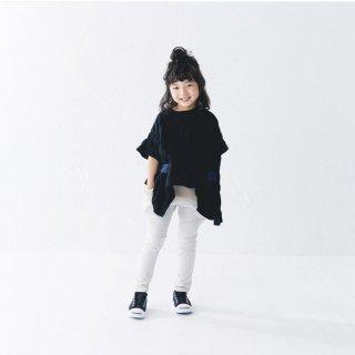 <img class='new_mark_img1' src='https://img.shop-pro.jp/img/new/icons20.gif' style='border:none;display:inline;margin:0px;padding:0px;width:auto;' />nunuforme   Kids  リボンT / black  50%off