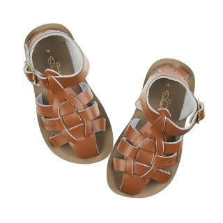<img class='new_mark_img1' src='https://img.shop-pro.jp/img/new/icons14.gif' style='border:none;display:inline;margin:0px;padding:0px;width:auto;' />SALTWATER SANDALS   Shark/ tan.