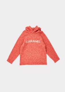 <img class='new_mark_img1' src='https://img.shop-pro.jp/img/new/icons20.gif' style='border:none;display:inline;margin:0px;padding:0px;width:auto;' />CARAMEL    Hermes knit  hoodie  /  nectarine 3y 4y 6y 50%off