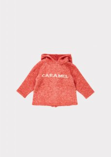 <img class='new_mark_img1' src='https://img.shop-pro.jp/img/new/icons20.gif' style='border:none;display:inline;margin:0px;padding:0px;width:auto;' />CARAMEL    Hermes  Baby  knit  hoodie  /  nectarine  2y 50%off