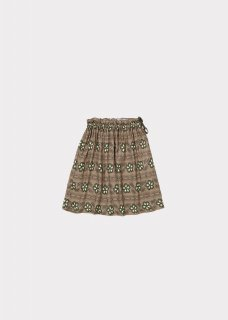 <img class='new_mark_img1' src='https://img.shop-pro.jp/img/new/icons20.gif' style='border:none;display:inline;margin:0px;padding:0px;width:auto;' />CARAMEL    Aetna skirt  / polka flower print putty  3y last one!  50%off