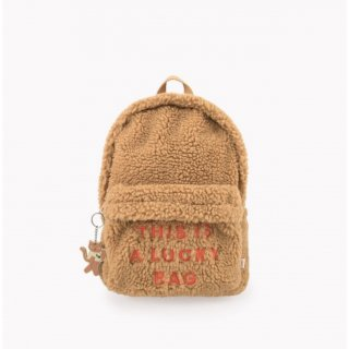 <img class='new_mark_img1' src='https://img.shop-pro.jp/img/new/icons20.gif' style='border:none;display:inline;margin:0px;padding:0px;width:auto;' />TINYCOTTONS   SHERPA BACK PACK  / brown 40%off last one!