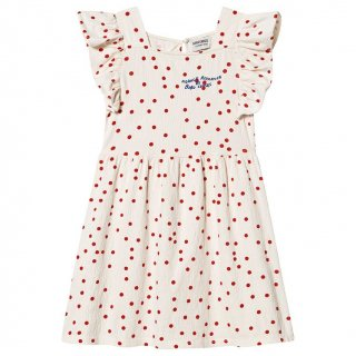 <img class='new_mark_img1' src='https://img.shop-pro.jp/img/new/icons20.gif' style='border:none;display:inline;margin:0px;padding:0px;width:auto;' />BOBO SHOSES    Dots Jersey Ruffle Dress. 30%off