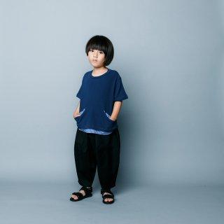 <img class='new_mark_img1' src='https://img.shop-pro.jp/img/new/icons14.gif' style='border:none;display:inline;margin:0px;padding:0px;width:auto;' />nunuforme   Kids オックスポインテッドパンツ /   Black