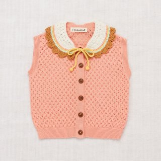 <img class='new_mark_img1' src='https://img.shop-pro.jp/img/new/icons20.gif' style='border:none;display:inline;margin:0px;padding:0px;width:auto;' />MISHA&PUFF   Zoe vest  / Coral. 50%off