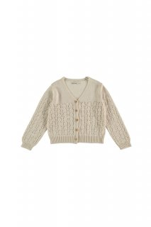 <img class='new_mark_img1' src='https://img.shop-pro.jp/img/new/icons20.gif' style='border:none;display:inline;margin:0px;padding:0px;width:auto;' />the new society   Sapin Kids Knit Jacket / Natural  30%0ff  6y last one!