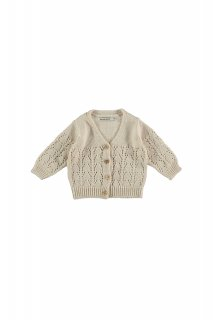<img class='new_mark_img1' src='https://img.shop-pro.jp/img/new/icons20.gif' style='border:none;display:inline;margin:0px;padding:0px;width:auto;' />the new society   Sapin Baby Knit Jacket / Natural 30%off  12m 18m 2y