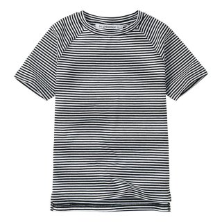 <img class='new_mark_img1' src='https://img.shop-pro.jp/img/new/icons14.gif' style='border:none;display:inline;margin:0px;padding:0px;width:auto;' />MINGO  T-shirt / Black&White stripes