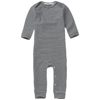 <img class='new_mark_img1' src='https://img.shop-pro.jp/img/new/icons14.gif' style='border:none;display:inline;margin:0px;padding:0px;width:auto;' />MINGO   Playsuit basics / stripes black&white