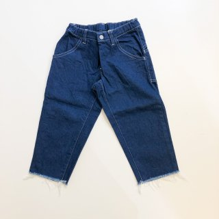 <img class='new_mark_img1' src='https://img.shop-pro.jp/img/new/icons55.gif' style='border:none;display:inline;margin:0px;padding:0px;width:auto;' />MOUN TEN.    wide cropped denim / blue.    110cm  last one!