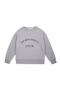 <img class='new_mark_img1' src='https://img.shop-pro.jp/img/new/icons20.gif' style='border:none;display:inline;margin:0px;padding:0px;width:auto;' />the new society   The New Society Crew Sweater / soft blue. 30%off. 6y last one!