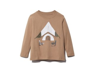 <img class='new_mark_img1' src='https://img.shop-pro.jp/img/new/icons20.gif' style='border:none;display:inline;margin:0px;padding:0px;width:auto;' />Snow peak  Snow peak  Graphic Tee / brown 30%off.    125cm last one!
