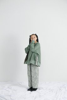 <img class='new_mark_img1' src='https://img.shop-pro.jp/img/new/icons20.gif' style='border:none;display:inline;margin:0px;padding:0px;width:auto;' />UNIONINI   garden long pants  / green 30%off