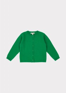 <img class='new_mark_img1' src='https://img.shop-pro.jp/img/new/icons20.gif' style='border:none;display:inline;margin:0px;padding:0px;width:auto;' />CARAMEL  Gadwall Baby Cardigan /  Emerald 18m last one! 30%off