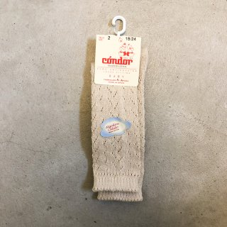 <img class='new_mark_img1' src='https://img.shop-pro.jp/img/new/icons14.gif' style='border:none;display:inline;margin:0px;padding:0px;width:auto;' />CONDOR   Warm cotton crochet knee socks / Lino 304