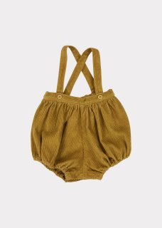 <img class='new_mark_img1' src='https://img.shop-pro.jp/img/new/icons20.gif' style='border:none;display:inline;margin:0px;padding:0px;width:auto;' />CARAMEL    Dunlin Baby Romper/  Mustard 30%off